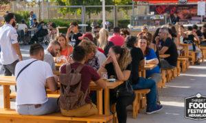Ηλιαχτίδα φωτός για τη πραγματοποίηση του Street Food Festival Crete