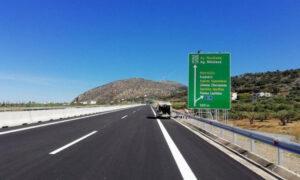 Κλειστό την Τρίτη 1η Σεπτεμβρίου τμήμα του Βόρειου Οδικού Άξονα Κρήτης