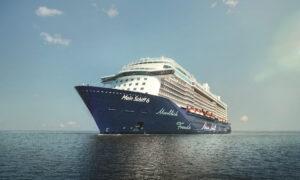 TUI Cruises: Ξεκίνησε η πρώτη κρουαζιέρα στην Ελλάδα, εν πλώ και η Βίκυ Λέανδρος