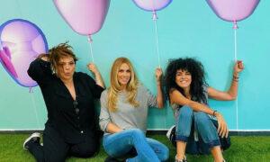 «Roomies rock» - Κατερίνα Ζαρίφη, Ντορέττα Παπαδημητρίου και Μαρία Σολωμού λίγο πριν την πρεμιέρα τους με ροκ ντύσιμο