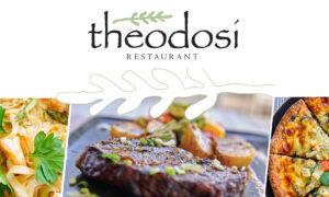 Από σήμερα και κάθε μέρα το Theodosi Restaurant στο σπίτι σας!