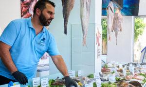 Από αθλητικός συντάκτης συνεργάτης σε Fish Market στη Κρήτη! (ρεπορτάζ OPEN TV)