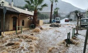 Κρήτη: Μετρούν τις πληγές τους από την κακοκαιρία - Ζημιές εκατομμυρίων ευρώ