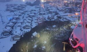 Απίστευτες εικόνες στο Γιέρντρουμ της Νορβηγίας: Άνοιξε η γη, 26 αγνοούμενοι (pics & vid)