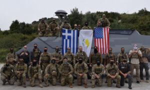 Τριμερής άσκηση Ελλάδας, Κύπρου και ΗΠΑ στη Σούδα