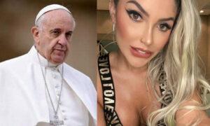 «Καυτό» μοντέλο ζητά την ευλογία του Πάπα για το εξώφυλλό της στο Playboy [εικόνες]