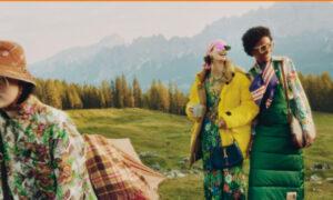 Μοντέλα κάνουν κάμπινγκ στο βουνό φορώντας... τακούνια - Tρολάρισμα για την καμπάνια γνωστών οίκων μόδας