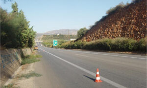 Χανιά: Κλειστό από το πρωί της Δευτέρας τμήμα του Βόρειου Οδικού Άξονα Κρήτης