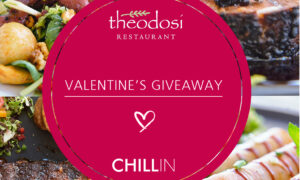 Το τέλειο δώρο για του Αγίου Βαλεντίνου από το Theodosis Restaurant και την Chillin press