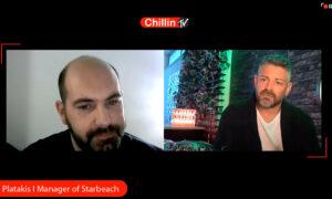 """Δείτε όλη τη συνέντευξη του Νίκου Πλατάκη """"manager του Starbeach"""" (vid)"""