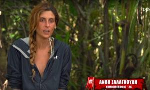 Ανθή Σαλαγκούδη: Όταν βγήκε από το Survivor βρήκε 6.000 υβριστικά μηνύματα και απειλές στο Instagram