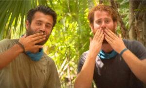 Survivor: Μπάρτζης και Τζέιμς στέλνουν φιλάκια στον Παππά (vid)