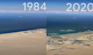Η Google «γυρίζει» τον χρόνο πίσω με το Timelapse της κλιματικής αλλαγής: Πώς άλλαξε ο κόσμος τις τελευταίες τέσσερις δεκαετίες (vid)