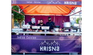 Η Ινδική Street Food συμμετοχή λέγεται Krisna!
