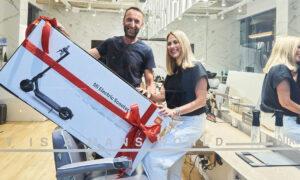 "Nikos Lianopoulos men's world Giveaway: Το αφεντικό ""τρελάθηκε""!"